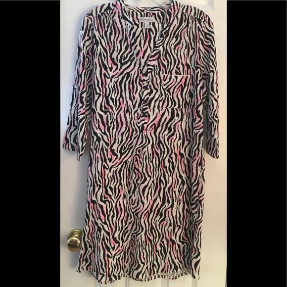 555149cf0f49 Kim Rogers Intimates & Sleepwear | New Sleep Shirt Pink Zebra M ...